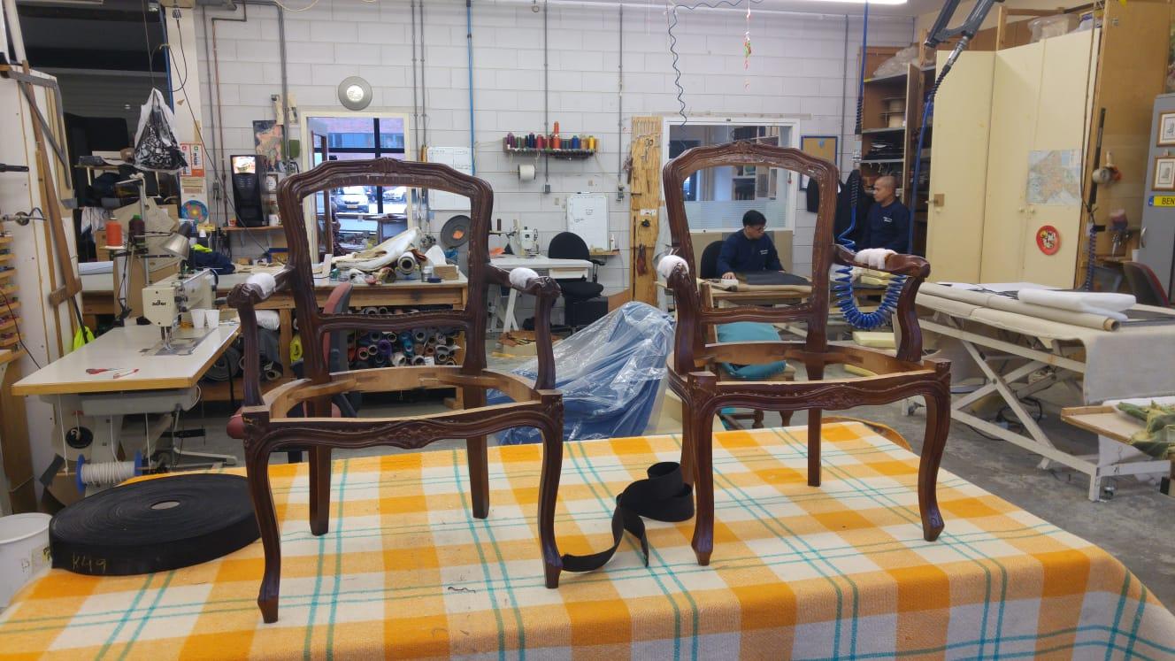 Stoel Opnieuw Bekleden : ≥ stoel opnieuw gestoffeerd stoelen marktplaats
