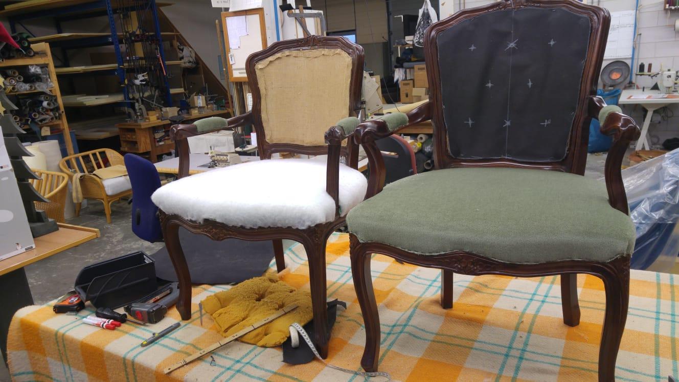Stoel Opnieuw Bekleden : Stoel opnieuw bekleden elegant barok stoel zelf bekleden beautiful